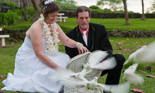Maui Wedding Add ons Dove Release
