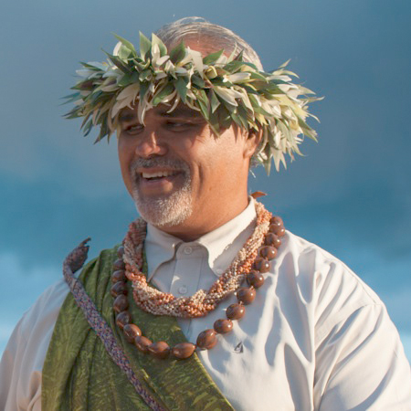 Ernest Pua'a, the Barefoot Warrior Officiants